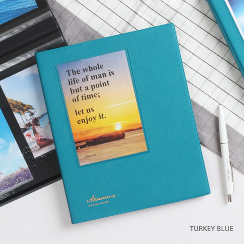 Turkey blue - Awesome self adhesive photo album