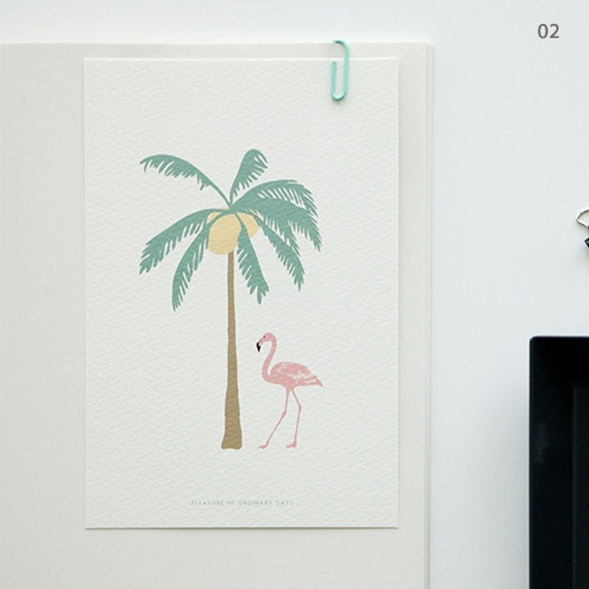 02 - Simple and cute illustration card