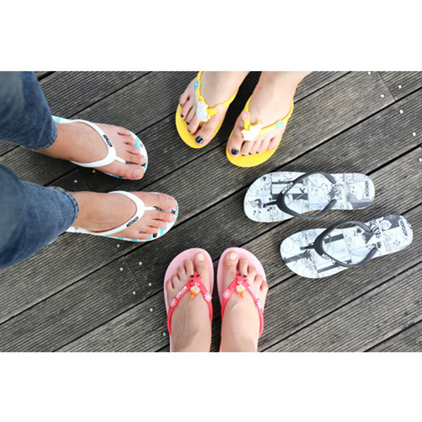 Moomin women's flip flop