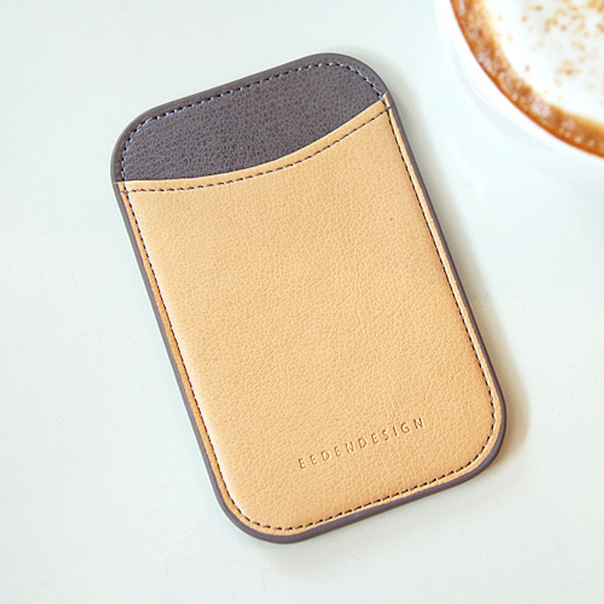 02 - Simple two tone flat card holder