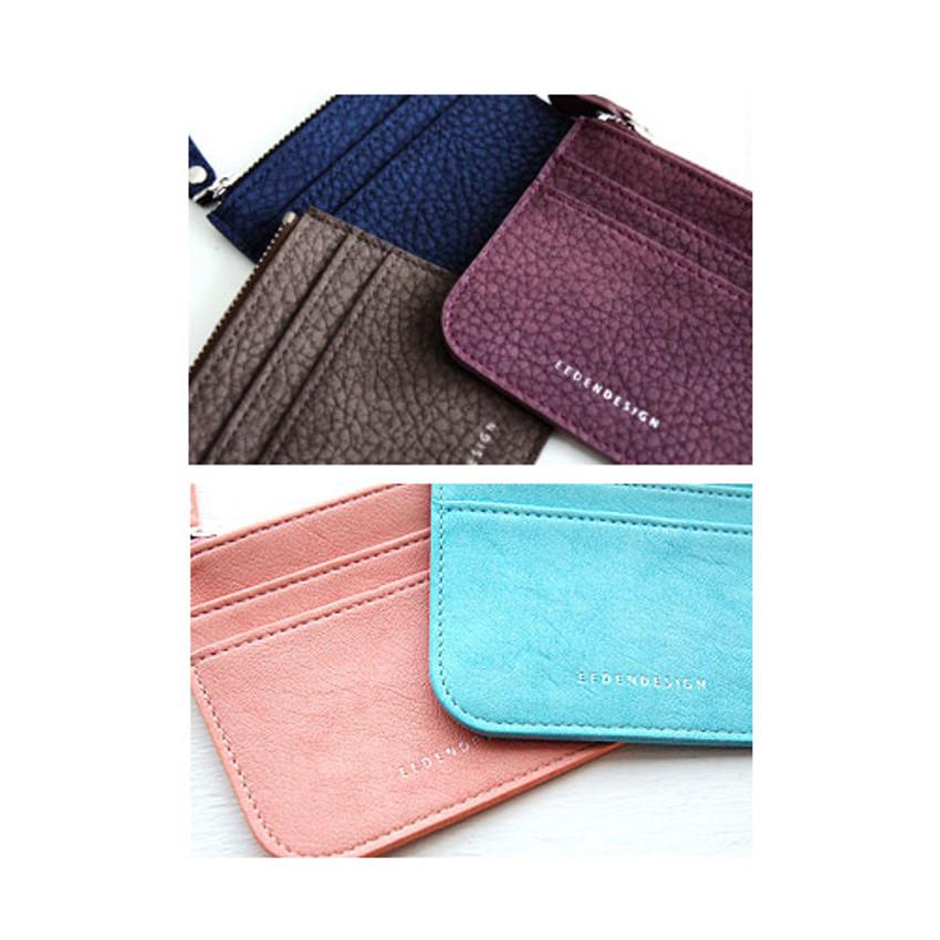 Detail of Simple flat pocket card case holder