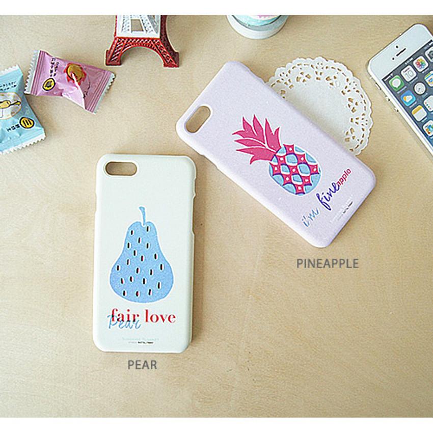 Pear, Pineapple