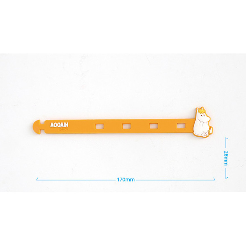Size of Moomin cable organizer