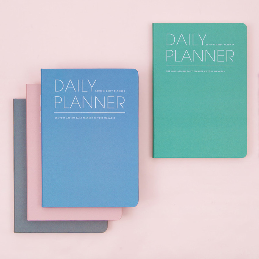 image regarding The Daily Planner identified as Very simple and very simple undated day-to-day planner scheduler