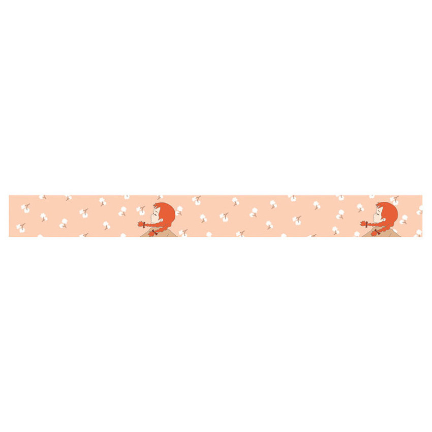 Cherry blossom anne 0.59X11yd single deco masking tape