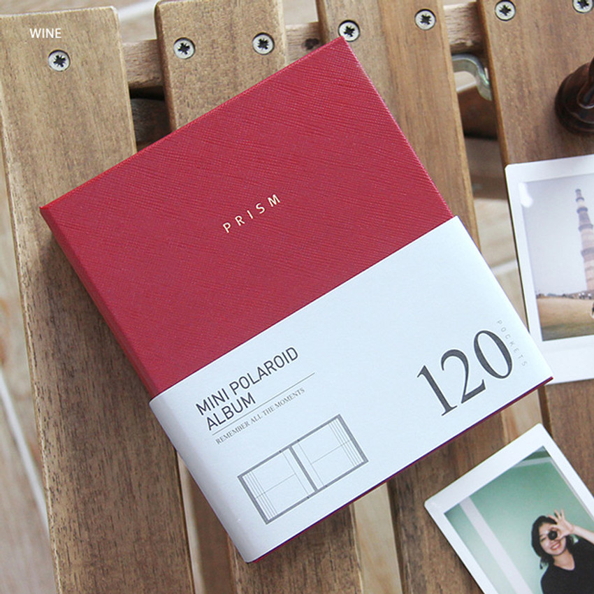 Wine - Prism instax mini slip in photo album