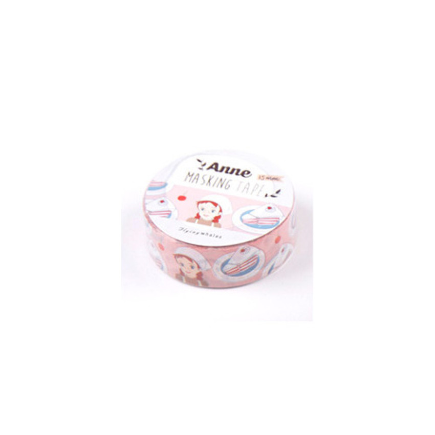 Cooking anne 0.59X11yd single deco masking tape