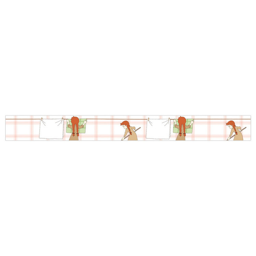 Cleaning anne 0.59X11yd single deco masking tape
