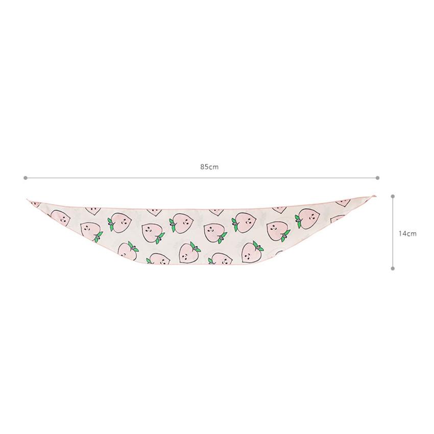 Size of Jam Jam petit pattern scarf