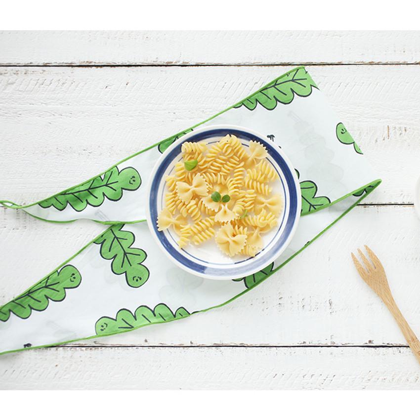 Foliage - Jam Jam petit pattern scarf