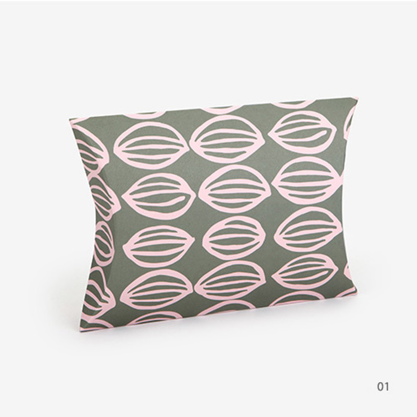 01 - For your heart pattern medium pillow paper gift box