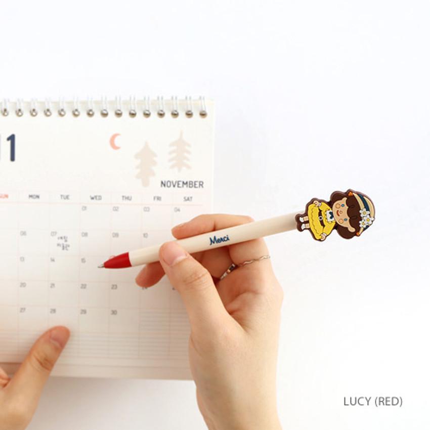 Lucy - Hellogeeks petite parisien color gel pen