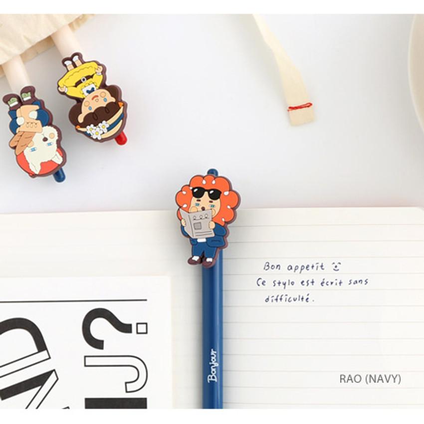Rao - Hellogeeks petite parisien color gel pen