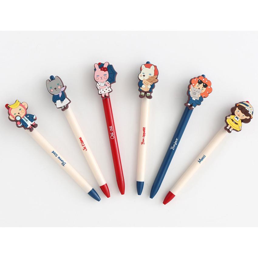 Hellogeeks petite parisien color gel pen