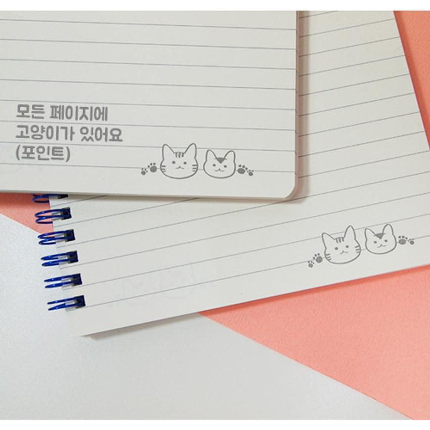Nicejin spiral bound lined notebook