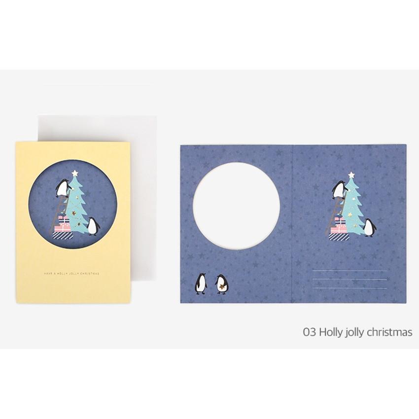 Holly jolly christmas - Christmas card