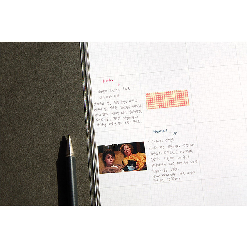 Monthly plan - Hej maned B5 undated monthly planner scheduler