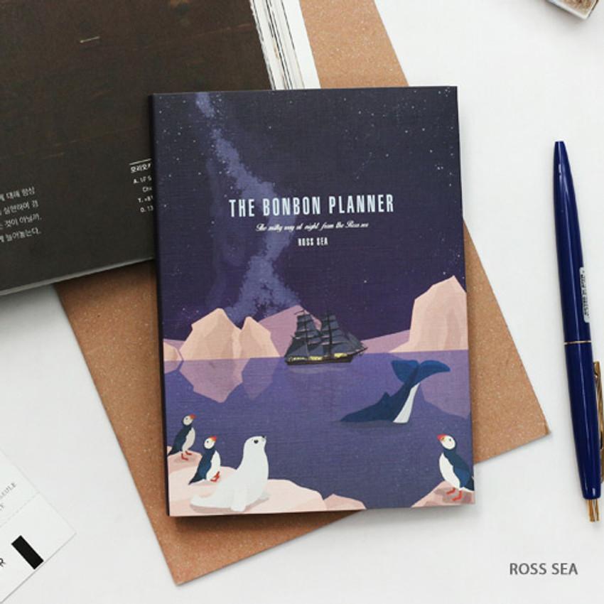 Ross sea - Bon Bon small undated monthly planner