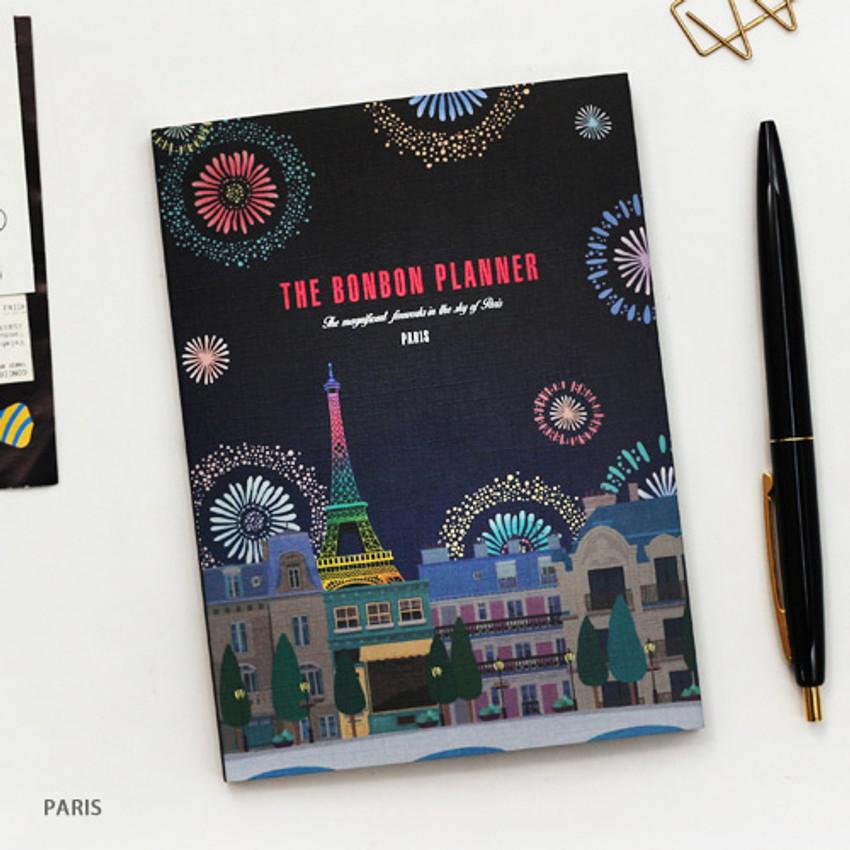 Paris - Bon Bon small undated monthly planner
