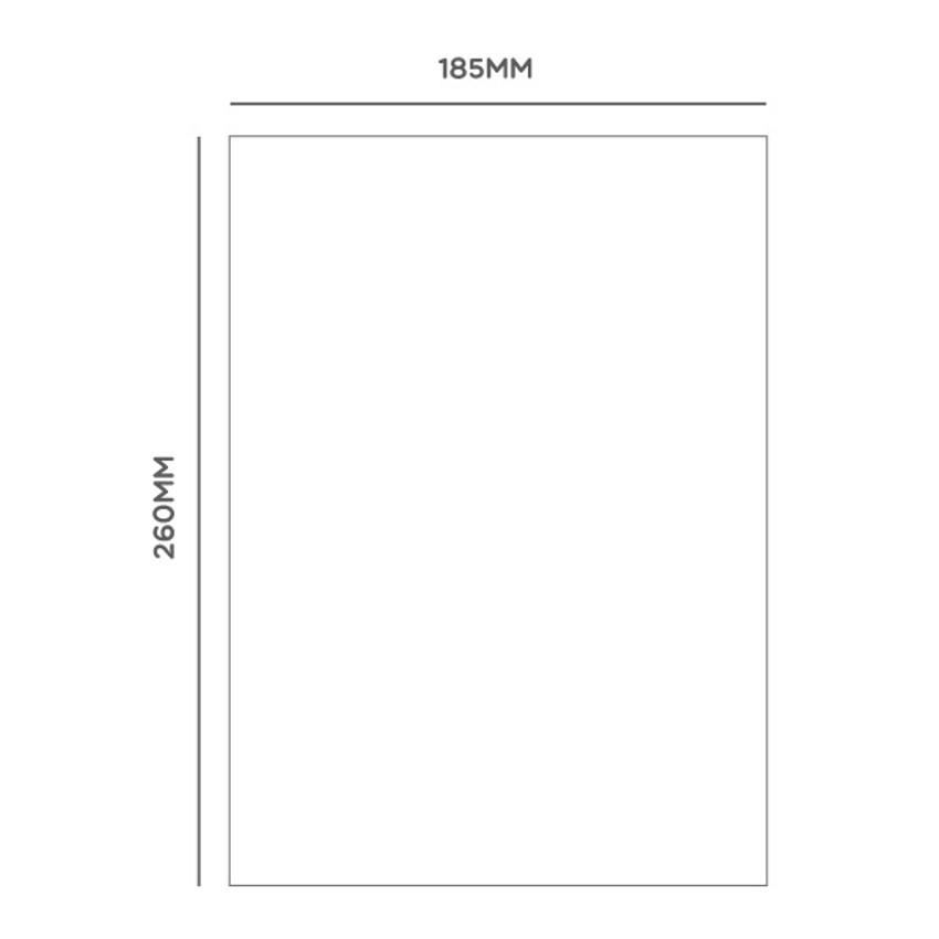 Size - Ggo deung o friends lined notebook