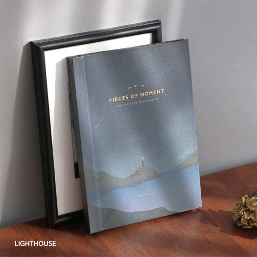 Lighthouse - Pieces of moment self adhesive photo album