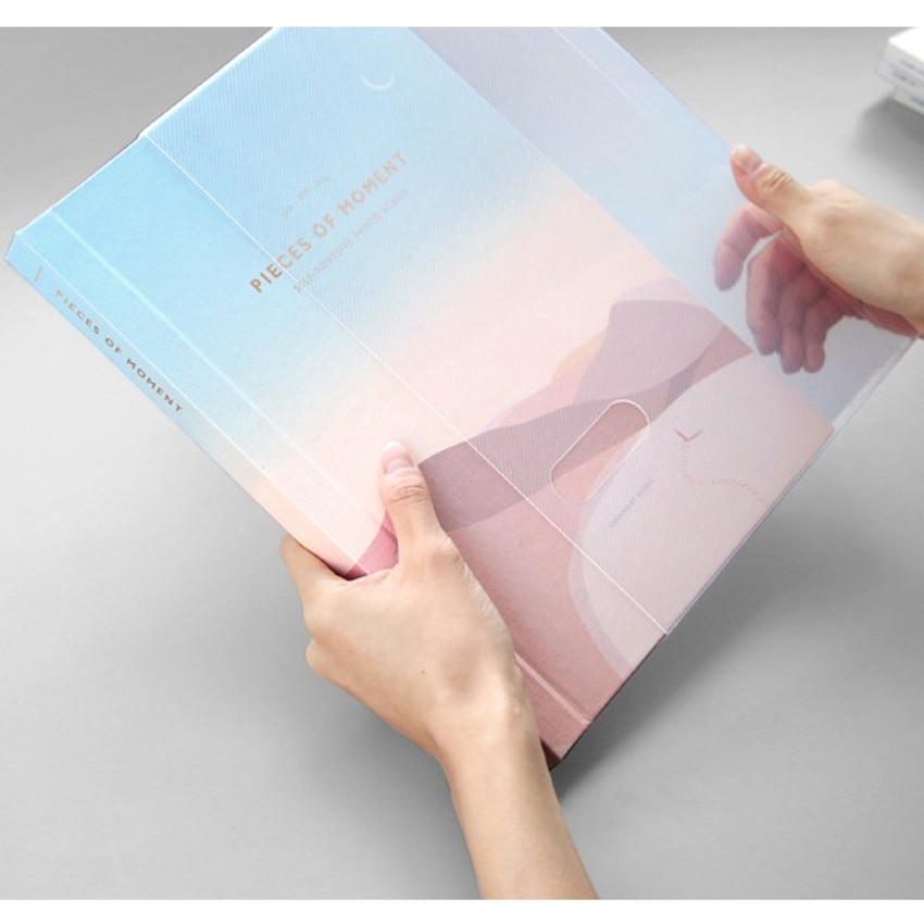 PP Cover - Pieces of moment self adhesive photo album ver2