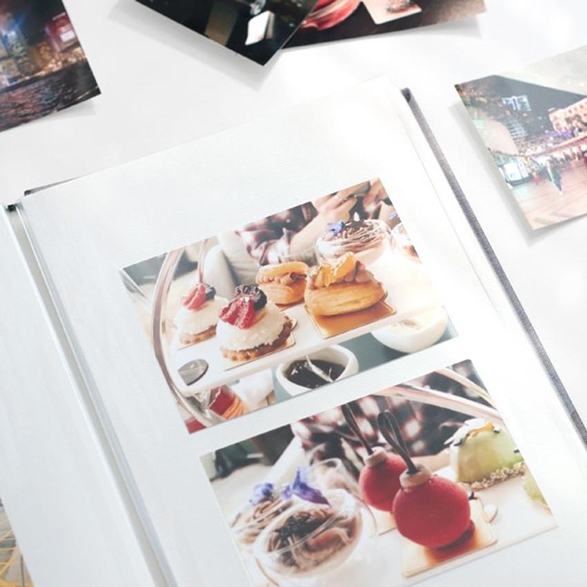 Pieces of moment self adhesive photo album ver2