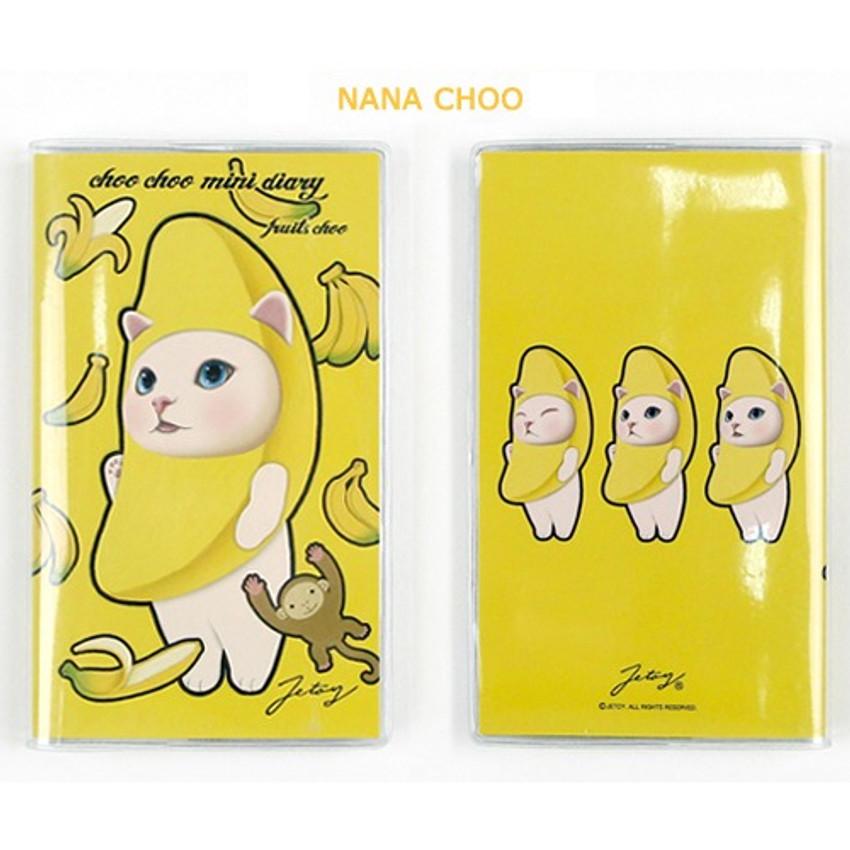 Nana choo - Jetoy Choo choo cat fruits undated weekly diary planner