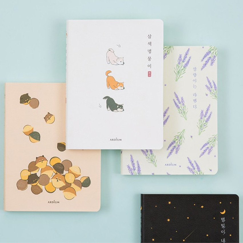 Ardium Write your ideas soft small lined notebook