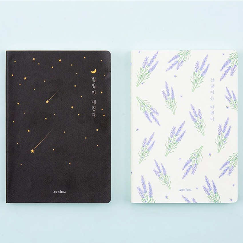 Ardium Write your ideas soft medium lined notebook