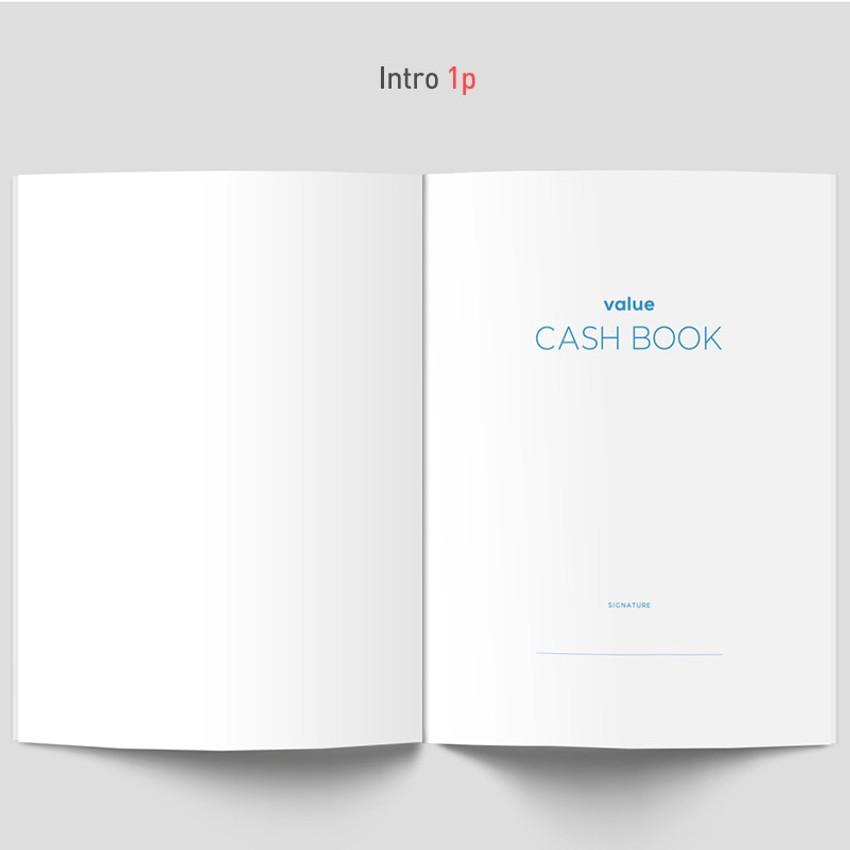 Intro - PAPERIAN Value simple cash book planner scheduler