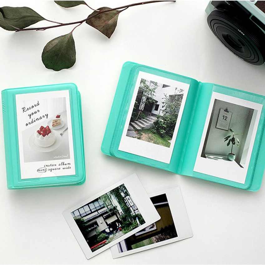 Mint - 2NUL Colorful Instax mini small slip in pocket photo album