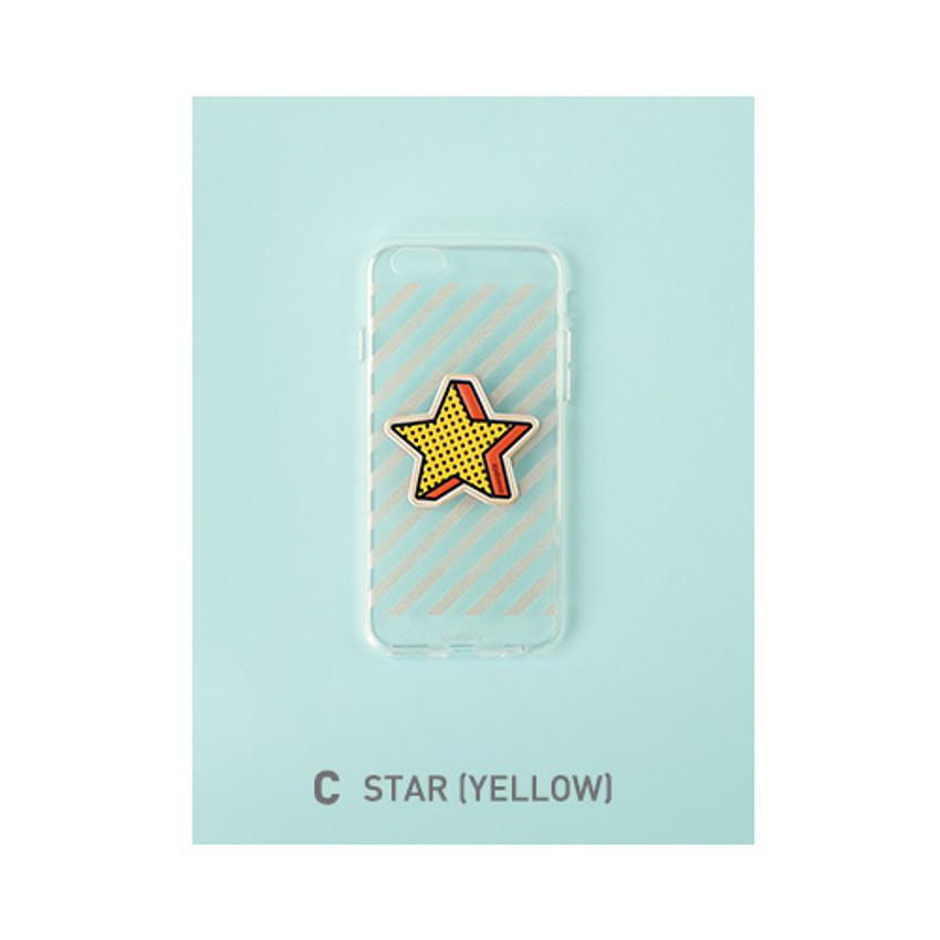 C - Star (Yellow)