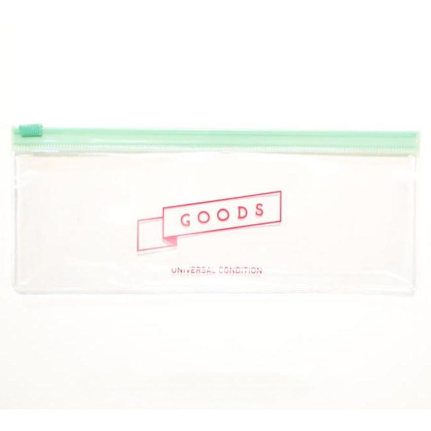 Goods transparent clear zip lock pouch