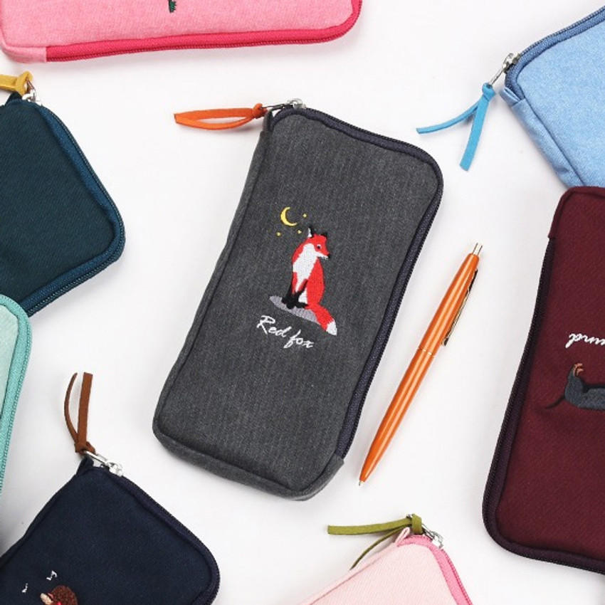 Wanna This Tailorbird half zip around slim multi pouch