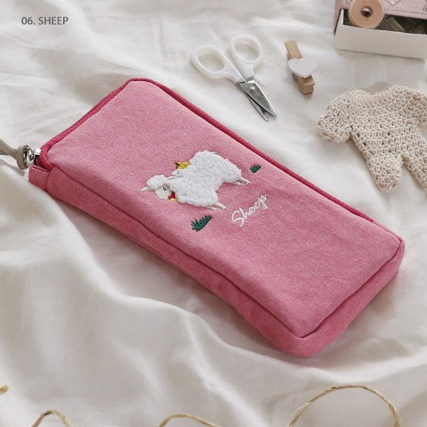 Sheep - Wanna This Tailorbird half zip around slim multi pouch