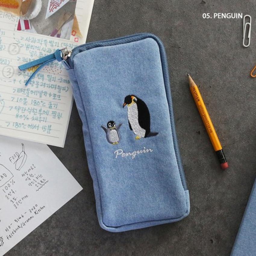 Penguin - Wanna This Tailorbird half zip around slim multi pouch