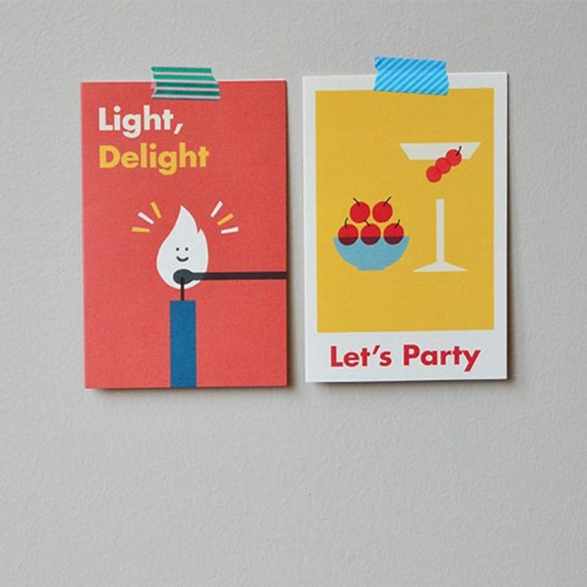 Jam studio Jam birthday card with envelope