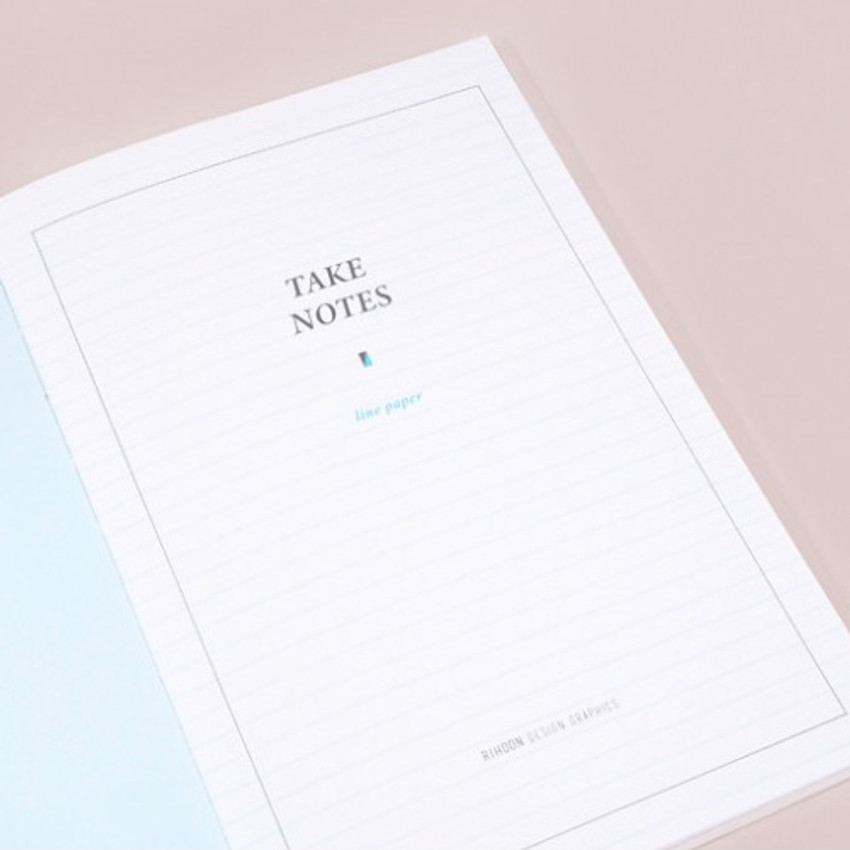 Index - Rihoon Take notes lined notebook ver2