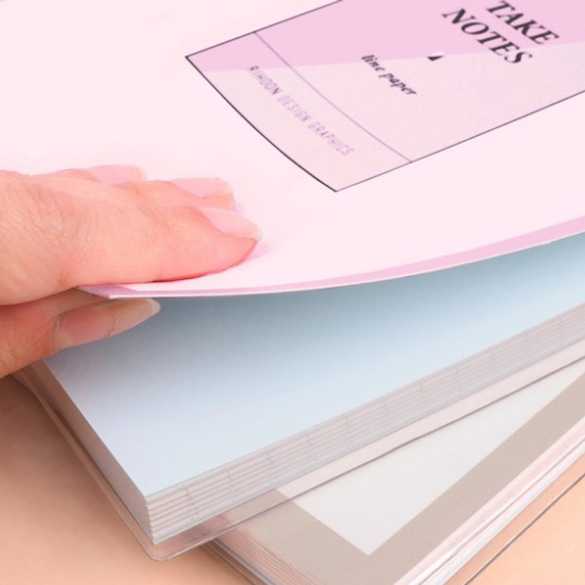 Thick cover - Rihoon Take notes lined notebook ver2
