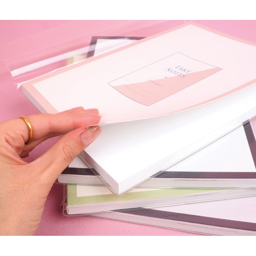 Thick cover - Rihoon Take notes grid notebook ver2