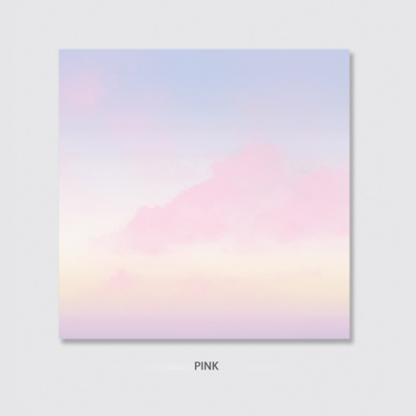 Pink - Rihoon Nemo life cloud memo notepad