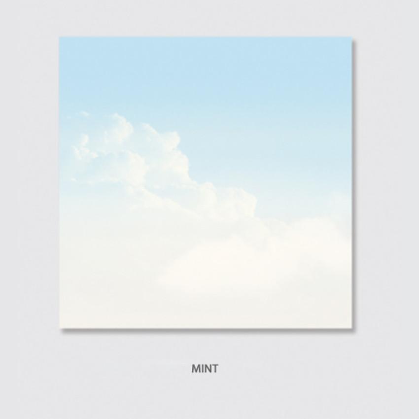 Mint - Rihoon Nemo life cloud memo notepad