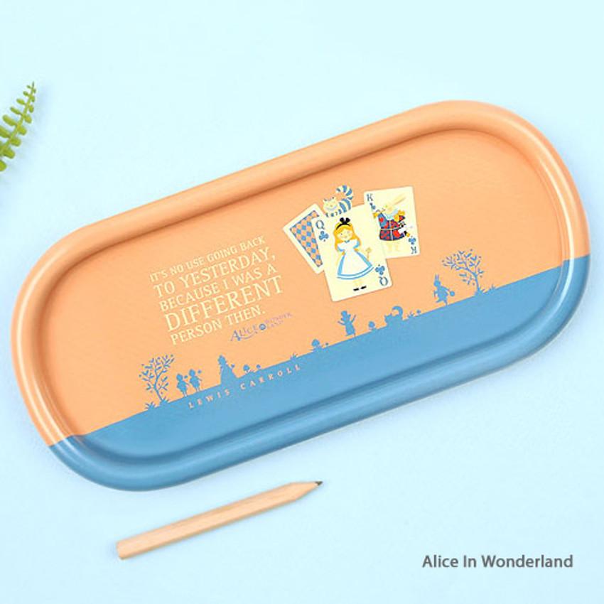 Alice In Wonderland - Bookfriends World literature pencil pen tray