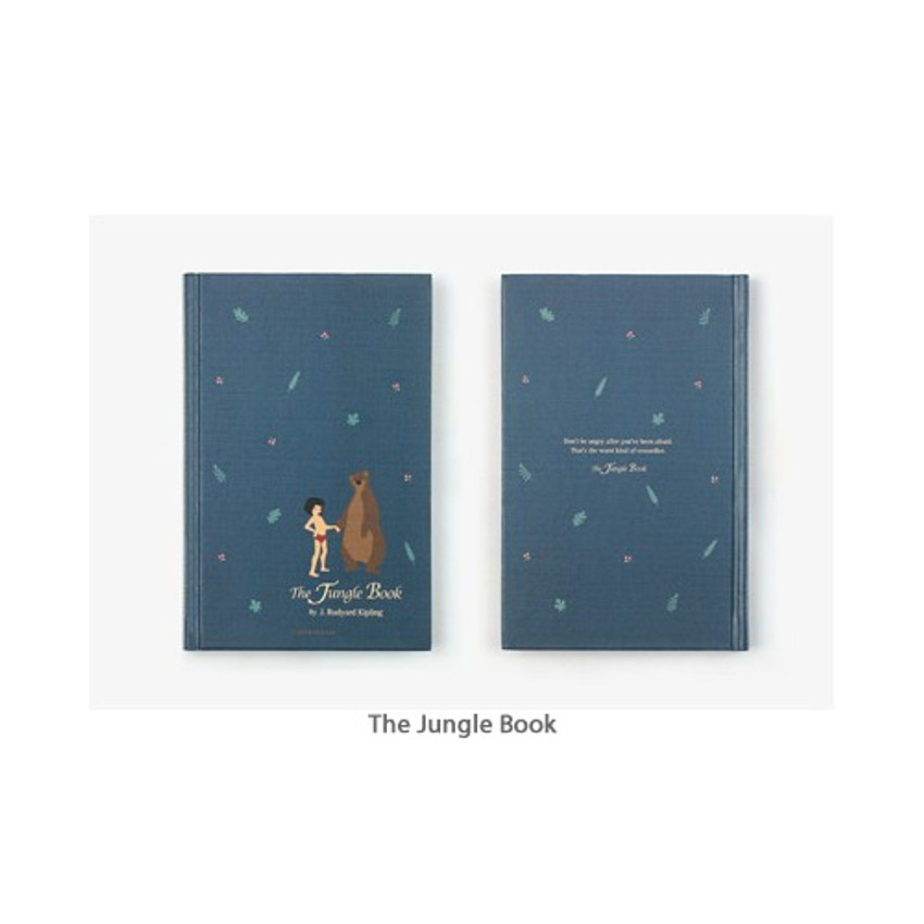 The Jungle Book - Bookfriends World literature hardcover lined notebook