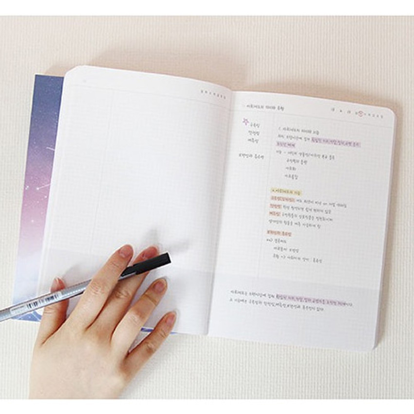 PLEPLE My story spiral cornell grid notebook