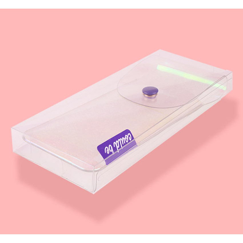 Package for Hologram pocket jelly pencil case