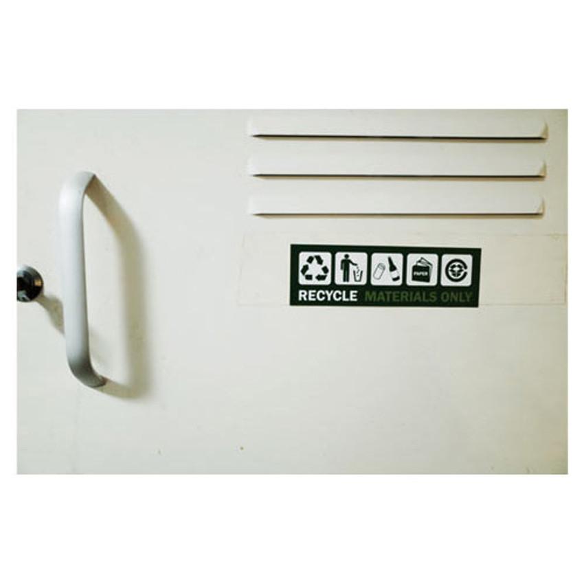 Recycle - Decorative multi message sticker set