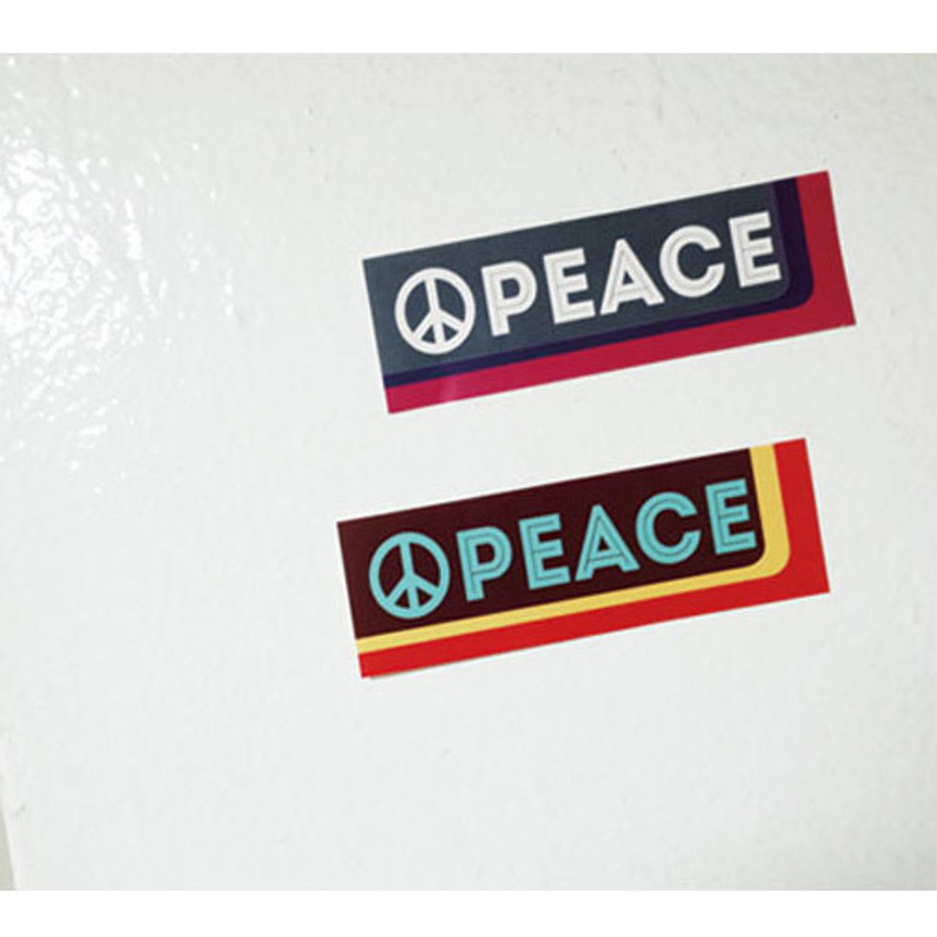 Peace - Decorative multi message sticker set