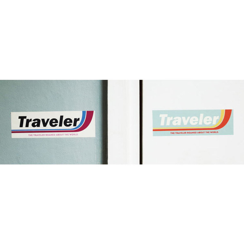 Traveler - Decorative multi message sticker set